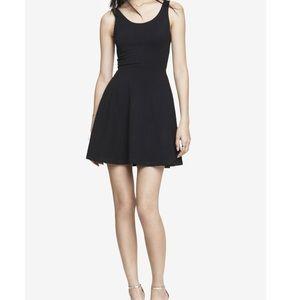 Express Black Skater Dress